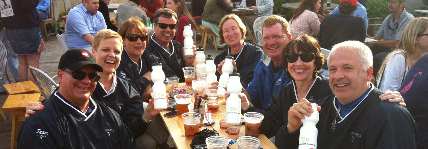 nantucket by bike tour at cisco brewery